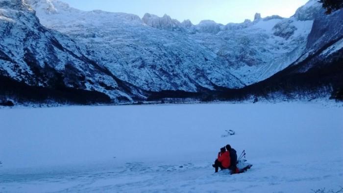 Trekking Laguna Esmeralda - Inverno - Expedição Ushuaia 2017