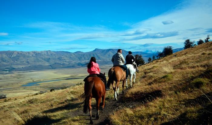 Cerro Frias com Cavalgada em El Calafate - Tarde
