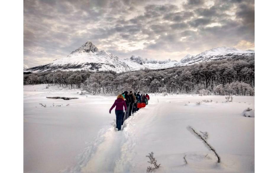 Trekking Laguna Esmeralda - Inverno - Ushuaia