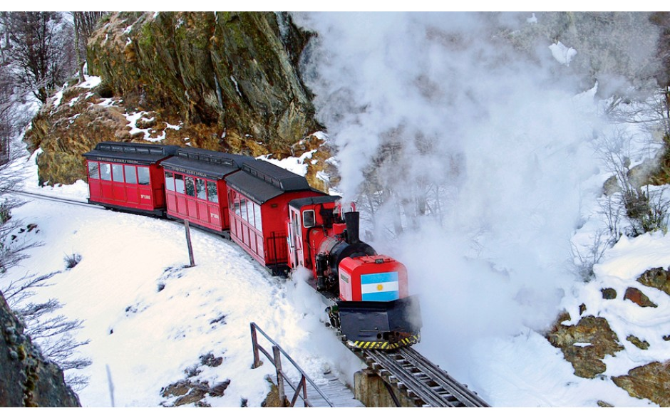 Trem do Fim do Mundo Classe Premium - Inverno - Ushuaia