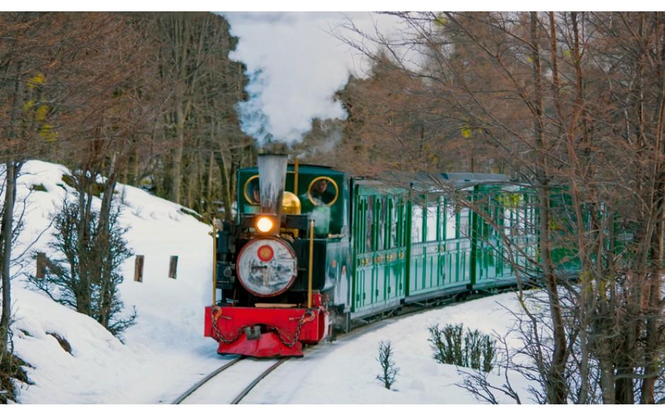 Trem do Fim do Mundo Classe Turista - Inverno - Ushuaia