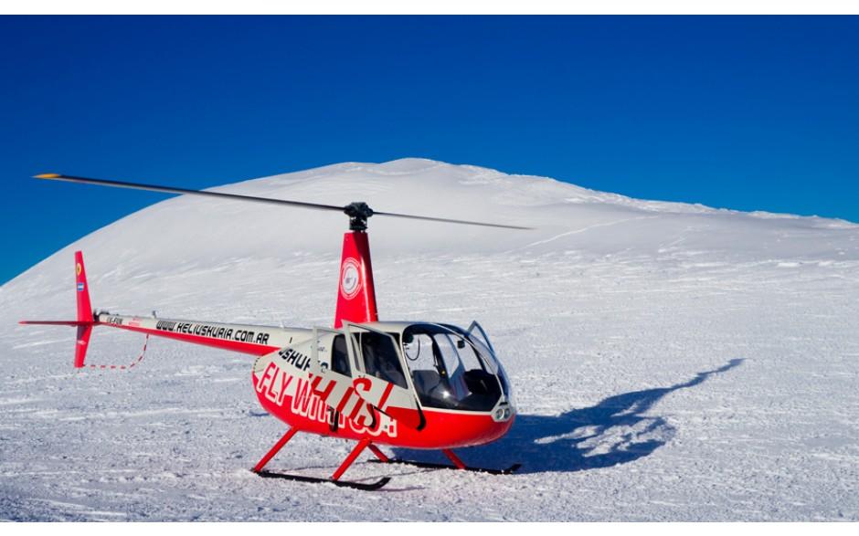 Sobrevoo de Helicóptero com pouso na Cordilheira dos Andes - Ushuaia