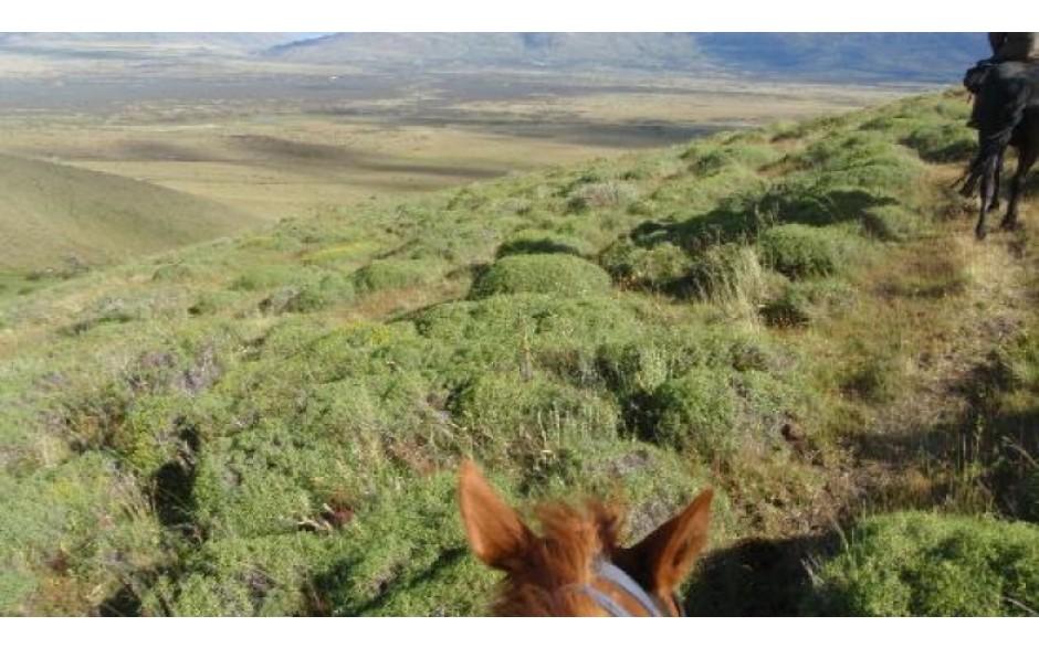 Cerro Frias com Cavalgada