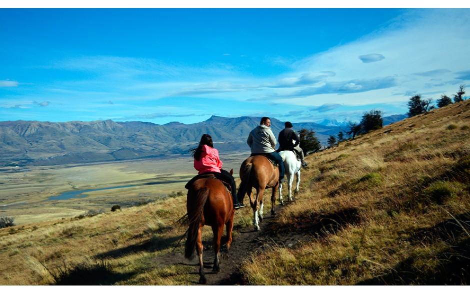 Cerro Frias com Cavalgadas - El Calafate