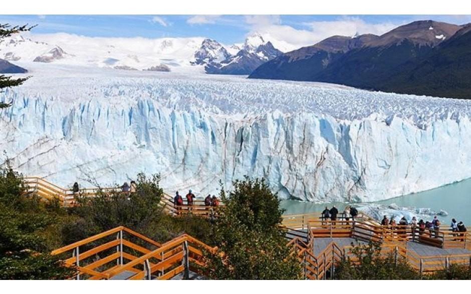Glaciar Perito Moreno Passarelas em El Calafate