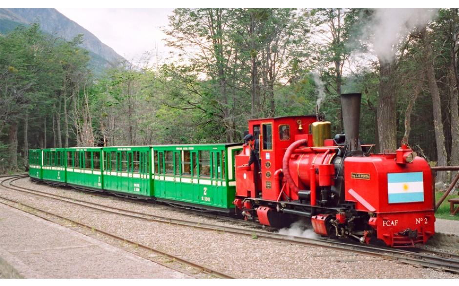 Trem do Fim do Mundo Classe Premium - Verão - Ushuaia