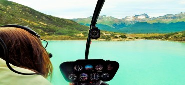 Sobrevoo de Helicóptero pela Laguna Esmeralda - Ushuaia