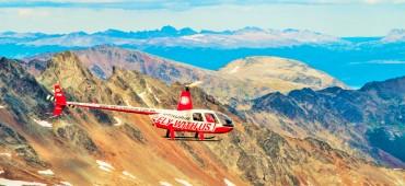 Sobrevoo de Helicóptero pela Cidade - Ushuaia