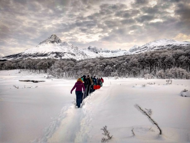 Trekking Laguna Esmeralda - Invierno - Ushuaia