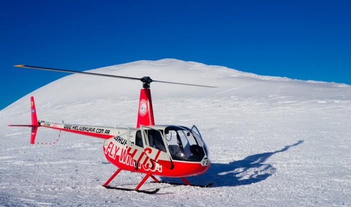 Vuelo de Helicóptero con aterrizaje en los Andes - Ushuaia