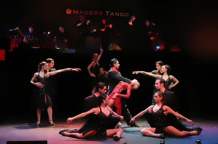 Show con Traslados Madero Tango