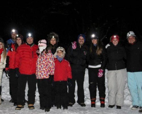 Incrível aventura no bosque Glaciar Martial