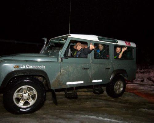 Aproveitando as noites de inverno para uma aventura off road