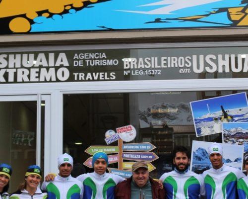 Atletas Brasileiros de Ski de Fundo em Ushuaia