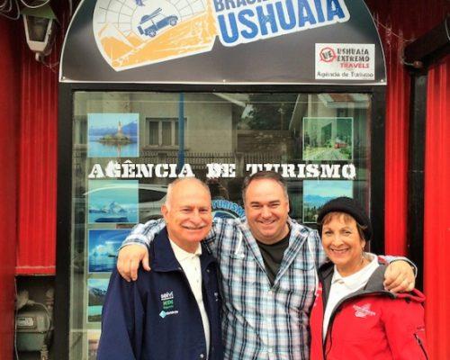 Helóisa Schurmann - (Família Schurmann) conhece Ushuaia