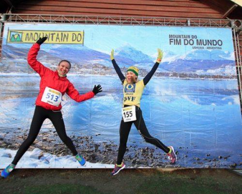 Brasileiros correm a maratona Mountain Do