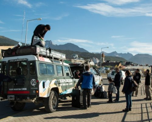Brasileiros em Ushuaia