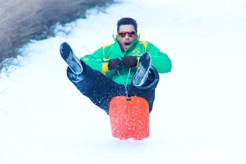 Diversão no Inverno em Ushuaia