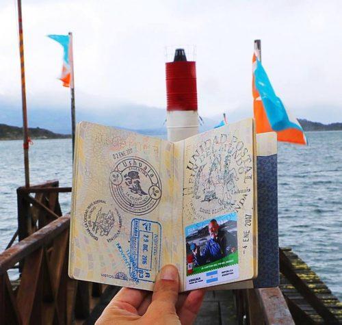 Passaporte em Ushuaia