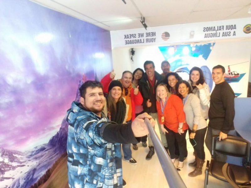 Equipe Brasileiros em Ushuaia