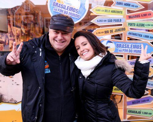 Brasileiros em Ushuaia recebe Amanda de Godoi no fim do mundo!