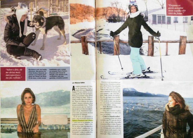 Brasileiros em Ushuaia recebe Amanda de Godoi no Fim do Mundo