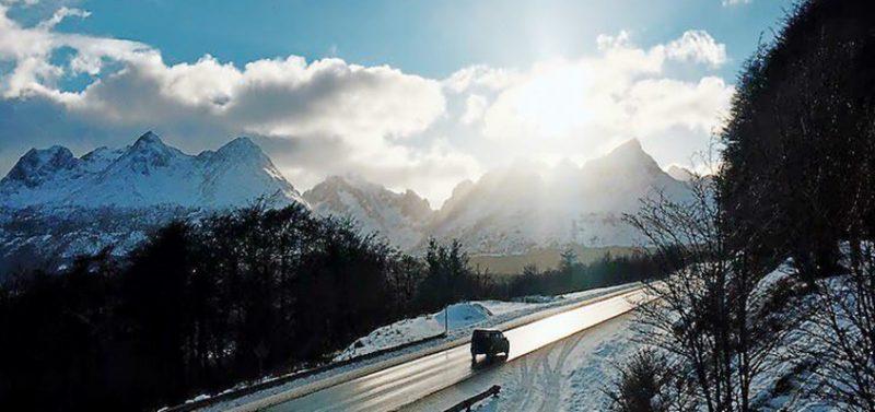 ushuaia no inverno