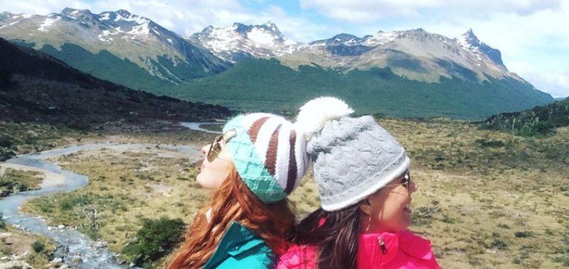 baixas temperaturas - Ushuaia no verão