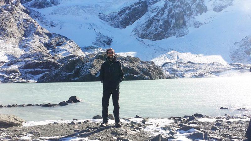 Passeio Trekking Glaciar Vinciguerra em Ushuaia no verão