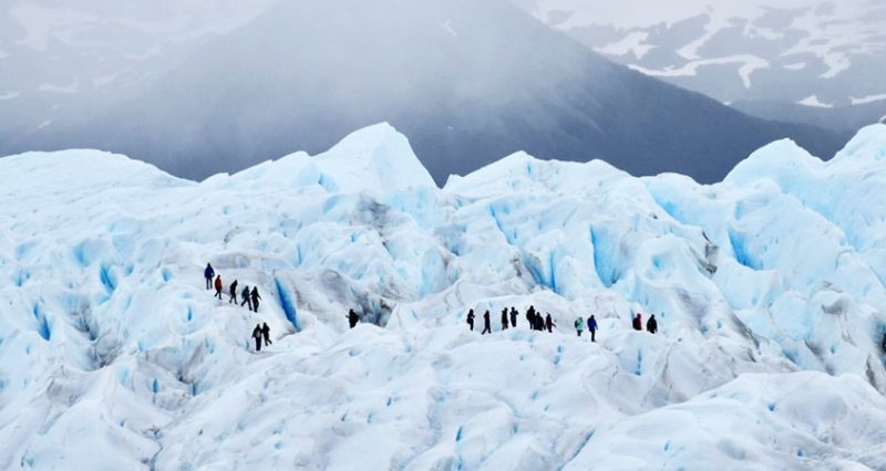 MIni Trekking no glaciar