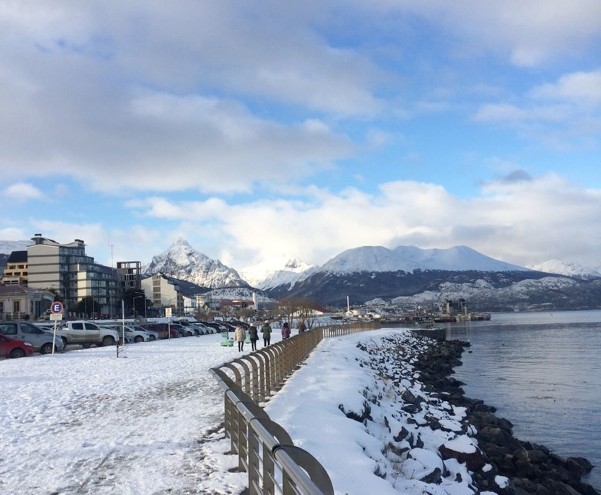 ushuaia no inverno