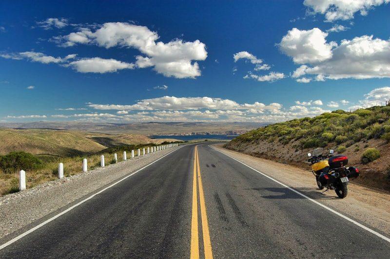 como chegar em ushuaia de moto