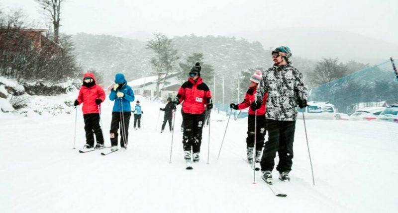 inverno esqui