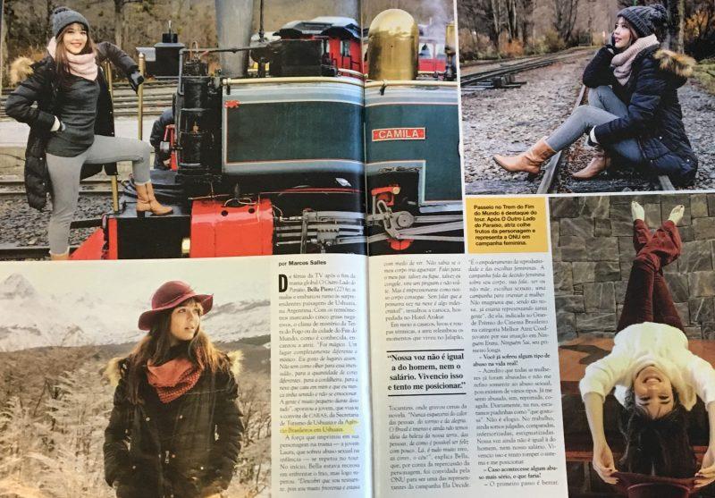 reportagem da Bella Piero em Ushuaia