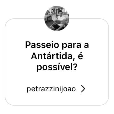 Passeio para a Antártida é possível?
