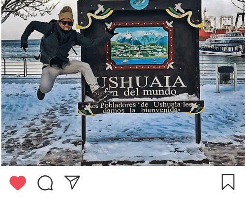 Fabio Beltrão em Ushuaia 2