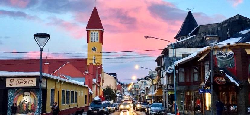 Conexão com buenos Aires para ir para Ushuaia