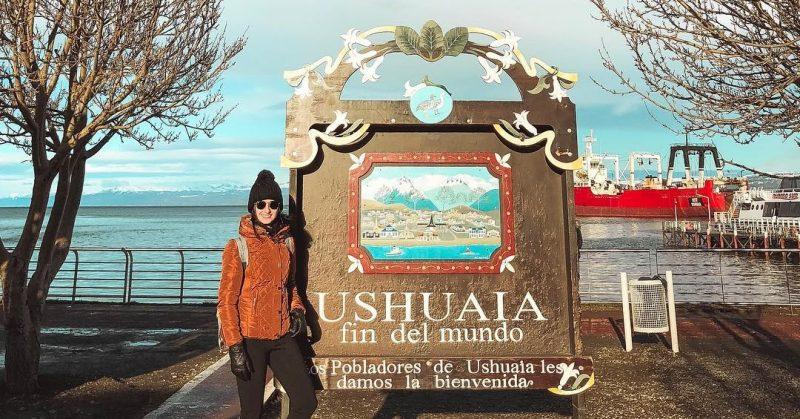 ushuaia no verão
