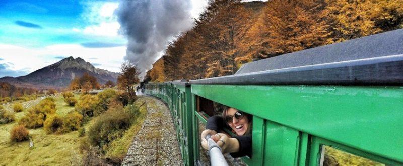 passeio de trem em ushuaia - trem do fim do mundo