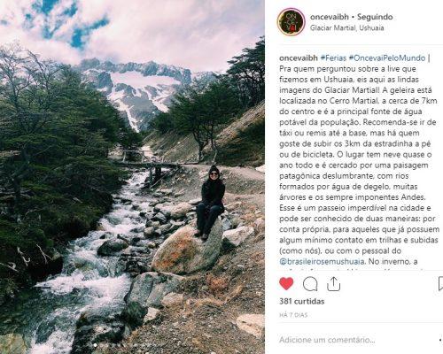 #Oncêvai - Bernado e Renata curtiram Ushuaia e El Calafate com toda a assessoria da Brasileiros em Ushuaia