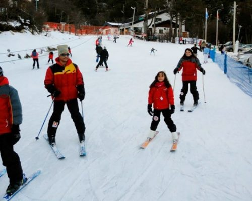 Aula de Snowboard ou Esqui no Inverno em Ushuaia
