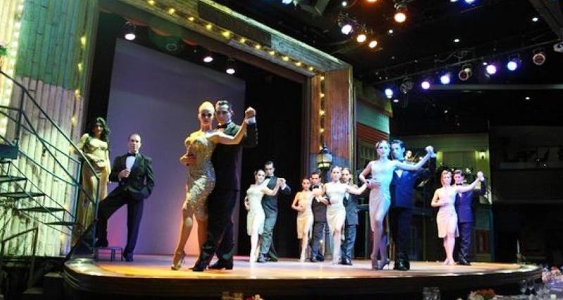 Apresentação de Tango em Buenos Aires