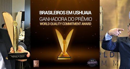 Brasileiros em Ushuaia Ganha prêmio World Quality Commitment