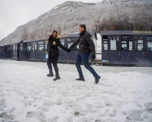 Portal Diário Regional apresenta inverno em Ushuaia