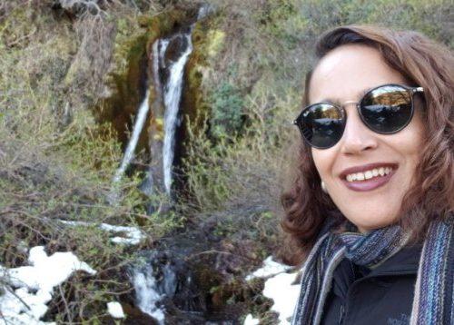 Marcelle Ribeiro do blog Viciada em Viajar conhece Ushuaia