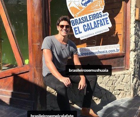 Reynaldo Gianecchini visita El Calafate e a mais nova unidade da agência Brasileiros em Ushuaia