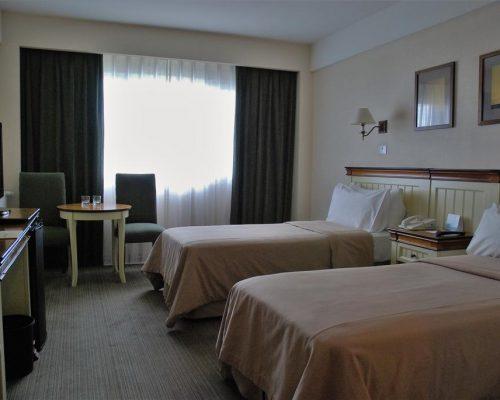 Quarto camas de Solteiro Alto Calafate Hotel