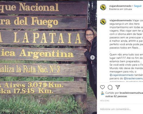 Blog Viajando Se Medo conhece Ushuaia | Brasileiros em Ushuaia