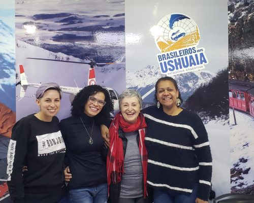 Atriz Ana Lúcia Torre Visita Ushuaia
